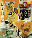 Jean-Michel-Basquiat : Untitled Graffiti : $369