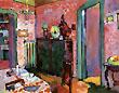 Wassily Kandinsky : My Dining Room 1909 : $365