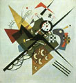 Wassily Kandinsky : On White II 1923 : $365