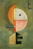 Wassily Kandinsky : Upwards 1929 : $389