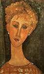 Amedeo Modigliani : Woman with Earrings 1917 : $375