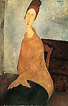 Amedeo Modigliani : Yellow Sweater 1919 : $379