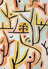 Paul Klee : Park Near Lucerne 1938 : $365
