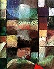 Paul Klee : On a Motif from Hamamet 1914 : $369