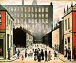 L-S-Lowry : Street Scene 1935 : $385