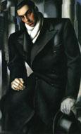 Tamara de Lempicka : Tadeusz de Lempicki unfinished : $405