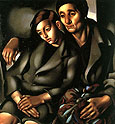 Tamara de Lempicka : The Refugees 1937 : $349