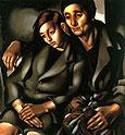 Tamara de Lempicka : The Refugees 1937 : $349
