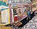 Marc Chagall : The Street : $369