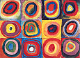 Wassily Kandinsky : Concentric Squares and Circles 1913 : $369
