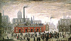 L-S-Lowry : An Accident 1926 (City of Manchester) : $389