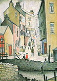 L-S-Lowry : An Old Street 1937 : $345