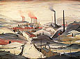 L-S-Lowry : Industrial Panorama 1953 : $389