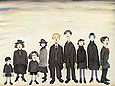 L-S-Lowry : The Funeral Party 1953 : $389