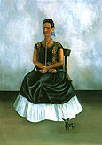 Frida Kahlo : Self Portrait with Itzcuinti Dog 1938 : $345