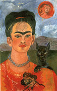 Frida Kahlo : Self Portrait with Deigo on the Breast 1953 : $399