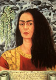Frida Kahlo : Self Portrait with Hair Loose 1947 : $369