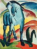 Franz Marc : Blue Horse : $345