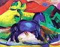 Franz Marc : Blue Horse 1912 : $345