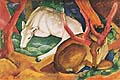 Franz Marc : Deer in the Wild : $339