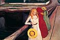 Edvard Munch : Girls on the Jetty : $335