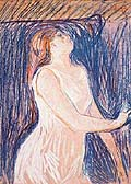 Edvard Munch : Sketch of the model : $369