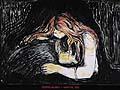 Edvard Munch : Vampire 1895 : $345