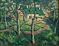 Kasimir Malevich : House with green roof : $379