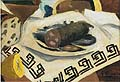 Georges Braque : The Sausage : $335