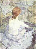 Henri Toulouse Lautrec : La Toilette : $369
