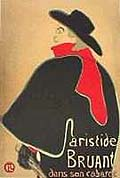Henri Toulouse Lautrec : Aristide Bruant : $369