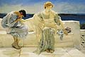 Sir Lawrence Alma Tadema : Ask Me No More : $345