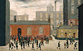 L-S-Lowry : Coming out of School 1927 : $369