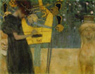 Gustav Klimt : MUSIC 1 1895 : $379