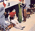 Edward Hopper : French Six Day Bicycle Racer : $339