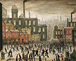 L-S-Lowry : Our Town : $385