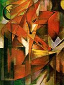 Franz Marc : Foxes 1913 : $339