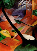 Franz Marc : Deer in the Woods II : $369