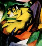 Franz Marc : Tiger : $369