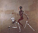 Jean-Michel-Basquiat : Riding With Death 1988 : $369