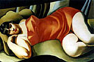 Tamara de Lempicka : Tunique Rose : $395
