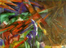 Franz Marc : Fete of the Animals : $369