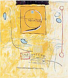 Jean-Michel-Basquiat : Big Sun : $349