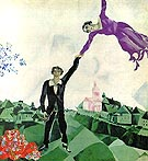 Marc Chagall : The Promenade 1917  : $369