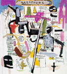 Jean-Michel-Basquiat : Untitled Saxaphone : $409