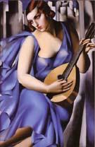 Tamara de Lempicka : Donna In Blue : $409