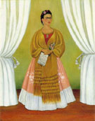 Frida Kahlo : Self Portrait dedicated to Leon Trotsky : $345