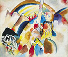 Wassily Kandinsky : Landscape with Red Spots No 2 1913 : $365