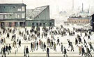 L-S-Lowry : The Football Match : $369