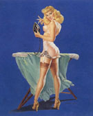 Pin Ups : A Pressing Need 1945 : $395
